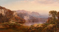 Paintings, William Louis Sonntag (American, 1822-1900). Golden Sunlight. Oil on canvas laid on board. 20-1/2 x 36-1/2 inches (52.1 ...