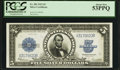 Large Size:Silver Certificates, Fr. 282 $5 1923 Silver Certificate PCGS About New 53PPQ.. ...