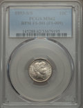 Barber Dimes: , 1893-S/S 10C Repunched Mintmark , FS-501 MS62 PCGS. (FS-009). PCGSPopulation (2/2). Mintage: 2,491,401....