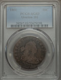 Early Half Dollars, 1801 50C O-101, T-2, R.3, AG3 PCGS. PCGS Population (1/15). NGCCensus: (0/21). ...