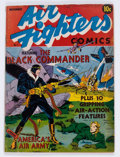 Golden Age (1938-1955):War, Air Fighters Comics #1 (Hillman Fall, 1941) Condition: GD/VG....
