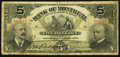 Canadian Currency: , Montreal, PQ- The Bank of Montreal $5 Jan. 2, 1904 Ch # 505-48-02. ...