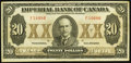 Canadian Currency: , Toronto, ON- Imperial Bank of Canada $20 Nov. 1, 1923 Ch. #375-18-10. ...
