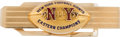 Football Collectibles:Others, 1959 New York Giants Eastern Conference Championship Tie Clip Presented to Roosevelt Brown....