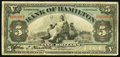 Canadian Currency: , Hamilton, ON- The Bank of Hamilton $5 June 1, 1914 Ch # 345-20-04....