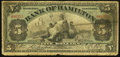 Canadian Currency: , Hamilton, ON- The Bank of Hamilton $5 June 1, 1909 Ch. # 345-20-02. ...