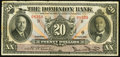 Canadian Currency: , Toronto, ON- The Dominion Bank $20 Feb. 1, 1931 Ch. # 220-24-10....