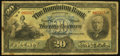 Canadian Currency: , Toronto, ON- The Dominion Bank $20 Oct. 1, 1909 Ch. # 220-20-04....