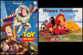 """Movie Posters:Animation, Toy Story & Others Lot (Buena Vista, 1995). Mini Posters (6) (18.5"""" X 27"""", 18.25"""" X 27"""", 21"""" X 33.25"""") SS. Animation.. ... (Total: 6 Items)"""