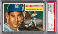 Baseball Cards:Singles (1950-1959), 1956 Topps Ted Williams (Grey Back) #5 PSA NM-MT 8....