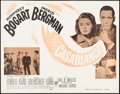 "Movie Posters:Academy Award Winners, Casablanca (Dominant, R-1956). Half Sheet (22"" X 28""). AcademyAward Winners.. ..."