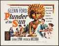 "Movie Posters:Adventure, Plunder of the Sun (Warner Brothers, 1953). Half Sheet (22"" X 28"").Adventure.. ..."