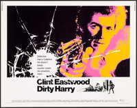 "Dirty Harry (Warner Brothers, 1971). Half Sheet (22"" X 28""). Crime"