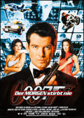 "Movie Posters:James Bond, Tomorrow Never Dies & Other Lot (United Artists, 1997). GermanA1s (2) (23.25"" X 33""). James Bond.. ... (Total: 2 Items)"