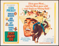 "Movie Posters:Elvis Presley, Stay Away, Joe (MGM, 1968). Half Sheet (22"" X 28""). Elvis Presley.. ..."