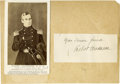 """Autographs:Military Figures, Robert Anderson, (1805-1871), Union commander of Fort Sumter at the start of the Civil War, his Signature with closing """"Yo..."""