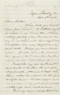"""Military & Patriotic:Civil War, [Union] Great Letter Denouncing """"Substitutions"""" and How Soldiers View Lincoln's Re-Election Bid! Autograph Letter Signed, se..."""