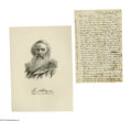 "Autographs:Inventors, Samuel F.B. Morse Autograph Letter Signed ""Saml. F.B.Morse."" Four pages, 5.25"" x 8.2"", New York, March 11, 1862.This l..."