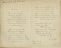 "Autographs:Celebrities, Samuel Francis Smith Complete ""America"" Autograph ManuscriptSigned, a fair copy, ""S. F. Smith"". One page, 9.75"" x7.75""..."