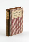 Books:Signed Editions, F. Scott Fitzgerald Signed C.E. Montague's Book Disenchantment, a criticism of World War I. The title plays a major part...
