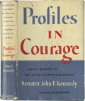Books:Signed Editions, John F. Kennedy Signed Book: Profiles in Courage (New York:Harper & Brothers, 1956), first edition, xix, 266 pages, pho...