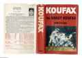 Books:Signed Editions, Sandy Koufax Signed Autobiography: Koufax (New York: VikingPress, 1966), first edition, 294 pages + appendix, one illus...