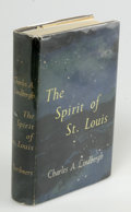 Books:Signed Editions, Charles A. Lindbergh Signed Book: The Spirit Of St. Louis(New York: Charles Scribner's Sons, 1953), signed. Near fine d...