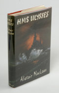 Books:First Editions, Alistair MacLean: H.M.S. Ulysses (London: Collins, 1955),first edition. Fine in a fine dust jacket. First printing. Sig...
