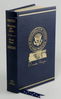 Books:Non-fiction, Ronald Reagan Signed Limited Edition: Speaking My Mind (NewYork: Simon & Schuster, 1989) Full gilt decorated, leather, ...