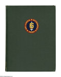 Books:Signed Editions, Lemuel C. Shepherd Jr Signed Book: History of the Sixth MarineDivision edited by Bevan G. Cass (Washington: Infantry Jo...