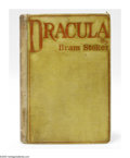 Books:Signed Editions, Bram Stoker Signed First Edition Book: Dracula (Westminster[London]: Archibald Constable and Company, 1897), first edit...