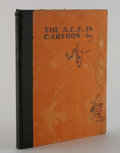"""Books:Non-fiction, Wallgren Signed Book """"The A.E.F. In Cartoon"""" From Stars and Stripes, Official Newspaper of the A.E.F. (Philadelphia,..."""