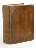 Books:Non-fiction, The Holy Bible (Worcester, MA: Isaiah Thomas, 1791) Containsthe old and new testaments. Small folio, full contemporary ...