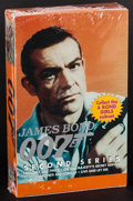 """Movie Posters:James Bond, James Bond: 007 Trading Cards Second Series (Eclipse, 1994). Unopened Trading Card Box in Original Packaging (5.5"""" X 9"""" X 2""""..."""