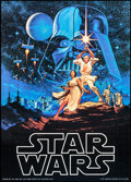 "Movie Posters:Science Fiction, Star Wars (Factors, 1977). Commercial Poster (20"" X 28""). ScienceFiction.. ..."