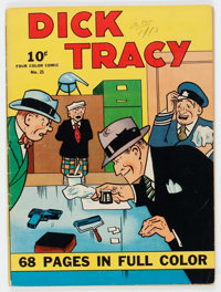 Four Color (Series One) #21 Dick Tracy (Dell, 1942) Condition: VG