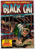 Golden Age (1938-1955):Horror, Black Cat Mystery #52 (Harvey, 1954) Condition: VF....