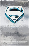 "Movie Posters:Action, Superman the Movie (Warner Brothers, 1978). Mylar One Sheet (25.25"" X 39.75"") Advance. Action.. ..."