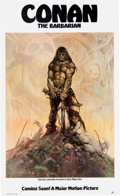 Memorabilia:Poster, Conan the Barbarian Movie Pre-Release Poster (20th CenturyFox, 1980)....