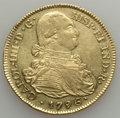 Colombia, Colombia: Charles IV gold 8 Escudos 1796 P-JF XF - Cleaned,...