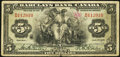Canadian Currency: , Montreal, PQ- Barclays Bank (Canada) $5 Jan. 2, 1935 Ch. # 30-12-02 . ...