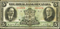Canadian Currency: , Montreal, PQ- The Royal Bank of Canada $5 Jan. 3, 1927 Ch # 630-14-04. ...
