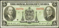 Canadian Currency: , Montreal, PQ- The Royal Bank of Canada $5 Jan. 2, 1935 Ch. #630-18-02. ...