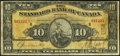 Canadian Currency: , Toronto, ON- The Standard Bank of Canada $10 Jan. 2, 1924 Ch. # 695-20-04. ...