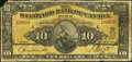 Canadian Currency: , Toronto, ON- The Standard Bank of Canada $10 Jan. 2, 1924 Ch. #695-20-04. ...