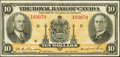 Canadian Currency: , Montreal, PQ- The Royal Bank of Canada $10 Jan. 2, 1935 Ch. #630-18-04. ...