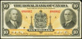 Canadian Currency: , Montreal, PQ- The Royal Bank of Canada $10 Jan. 2, 1935 Ch #630-18-04. ...