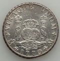 Mexico, Mexico: Charles III Pillar Dollar of 8 Reales 1770 Mo-FM XF -Altered Surfaces,...