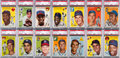 Baseball Cards:Sets, 1954 Topps Baseball Complete Set (250) With NM-MT Robinson & NMBanks Rookie. ...