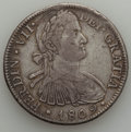 Mexico, Mexico: Ferdinand VII 8 Reales Pair 1809-20,... (Total: 2 coins)